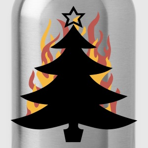 burning Xmas - Drinkfles