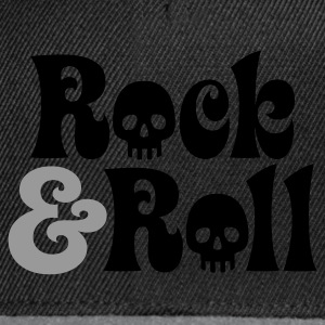 Schwarz Rock & Roll © T-Shirts - Snapback-caps