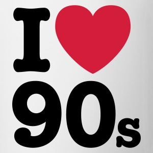Wit I love the 90's T-shirts - Mok