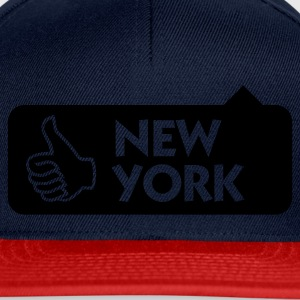 Jeansblau New York Thumbs Up (1c) T-Shirts - Snapback Cap