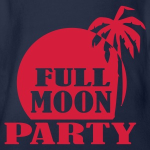 Türkis Full Moon Party Kinder T-Shirts - Baby Bio-Kurzarm-Body