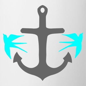 Anchor and Swallows - Mug