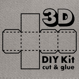 Verde muschio 3D Do it Yourself Kit T-shirt - Snapback Cap