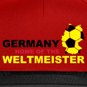germany home of the weltmeister - Snapback Cap