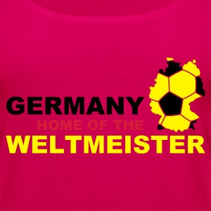 germany home of the weltmeister - Women's Premium Tank Top