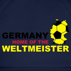 germany home of the weltmeister  - Baseball Cap