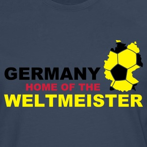 germany home of the weltmeister  - Men's Premium Longsleeve Shirt