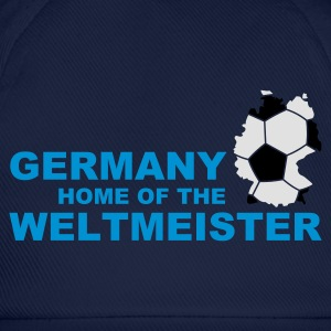 Divablau germany home of the weltmeister 2 T-Shirts - Baseballkappe