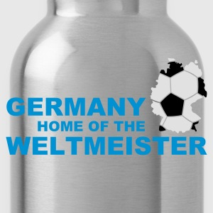 Divablau germany home of the weltmeister 2 T-Shirts - Trinkflasche