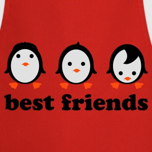 Solgul Best friends T-shirts - Förkläde