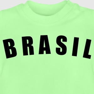 Kelly green BRASIL Brazil Brasilien fútbol calcio football Fußball Länder countries WM cup Sports - eushirt.com Kinder T-Shirts - T-shirt Bébé