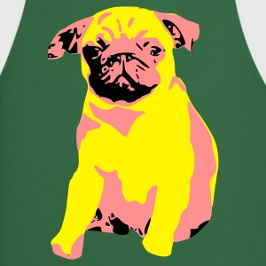 Pug Puppy Dog Pup Girlie T-Shirt - Cooking Apron
