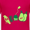 Roze kautee Kinder shirts - Teenager Premium T-shirt