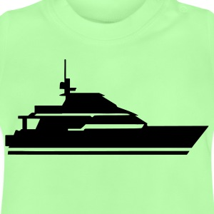 Kelly green Boot - Schiff Kinder T-Shirts - Baby T-Shirt