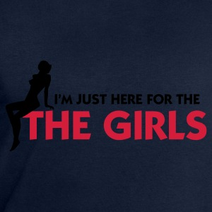 Jeansblå Just there for the Girls (2c) T-shirts - Herresweatshirt fra Stanley og Stella