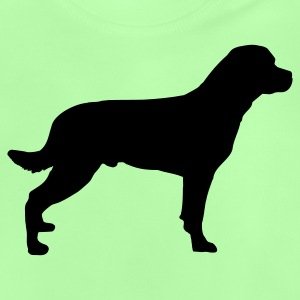 Kelly green Rottweiler - Hund Kinder T-Shirts - Baby T-Shirt