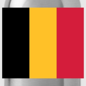 National Flag of Belgium T-Shirts - Water Bottle