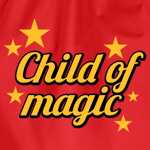 Stereo rot Child of Magic © T-Shirts - Sportstaske