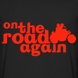Noir On The Road Again Big Sweatshirts - T-shirt manches longues Premium Homme