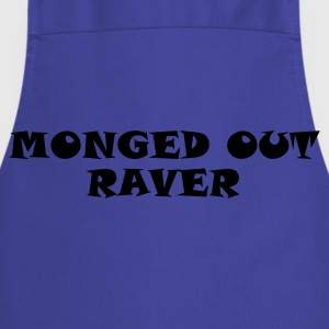 Monged Out Raver (Reflective) - Cooking Apron