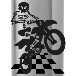 Motocross-Skelett - Water Bottle