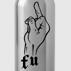 Ash f_u_fuck_you T-Shirts - Water Bottle