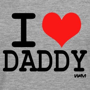 I love daddy - T-shirt manches longues Premium Homme
