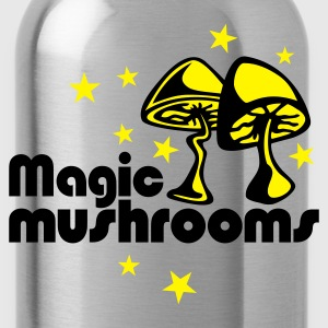 Yellow Magic mushrooms T-Shirt - Drikkeflaske