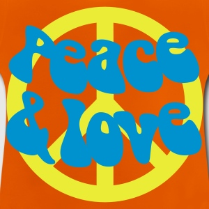 Groovy Peace and Love - Baby T-Shirt