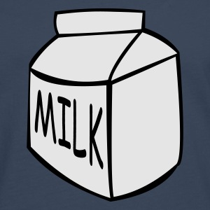 Milk Carton Glow in the dark - Men's Premium Longsleeve Shirt