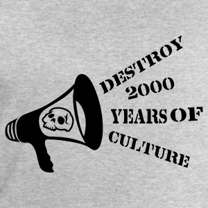 Ceniza destroy_2000_years_of_culture3 Camisetas - Sudadera hombre de Stanley & Stella
