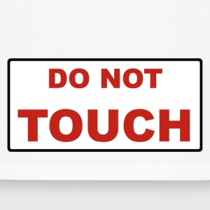 Do not touch - T-shirt manches longues Premium Homme