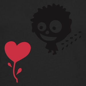 Olive love and happiness v2 (© alteerian) T-Shirts - Männer Premium Langarmshirt
