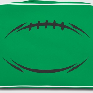 Kelly green american_football_modernstyle Women's Tees - Retro Bag