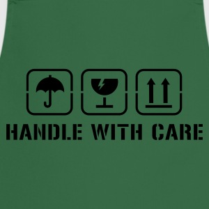 Kakigroen Handle with care T-shirts - Keukenschort