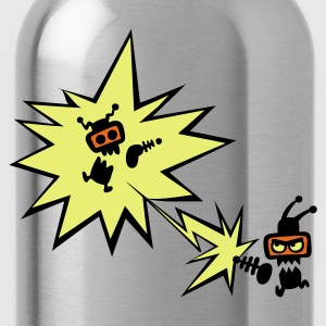 Sky Bug Attack Kid's Shirts  - Water Bottle