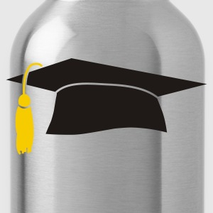 Graduation Cap - Water Bottle