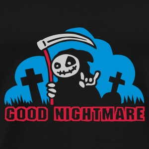 good_nightmare_b_3c Umbrellas - Men's Premium T-Shirt