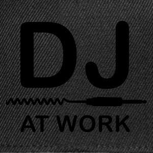 Schwarz DJ at Work T-Shirts - Snapback Cap