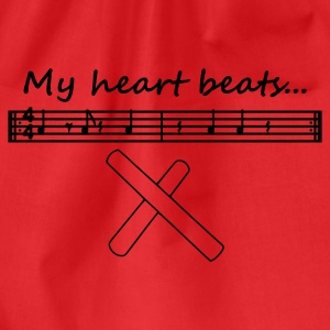 My heart beats... (3-2 Son Clave) - Turnbeutel