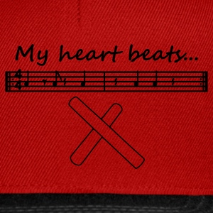 My heart beats... (3-2 Son Clave) - Snapback Cap