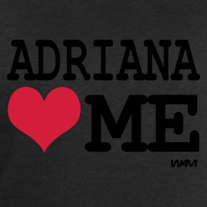 Noir adriana loves me by wam T-shirts - Sweat-shirt Homme Stanley & Stella