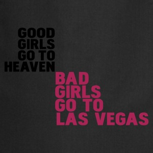 Nero bad girls go to las vegas T-shirt - Grembiule da cucina