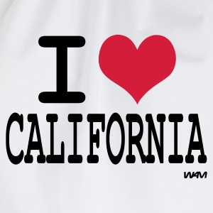 Blanco i love california by wam Camisetas - Mochila saco