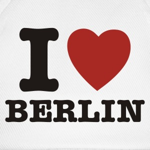Wit I Love Berlin - I Heart Berlin T-shirts - Baseballcap