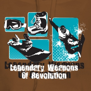 legandary weapons of revolution - Sweat-shirt à capuche Premium pour femmes