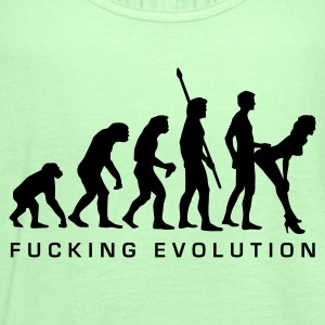 fucking_evolution T-Shirts - Women's Tank Top by Bella