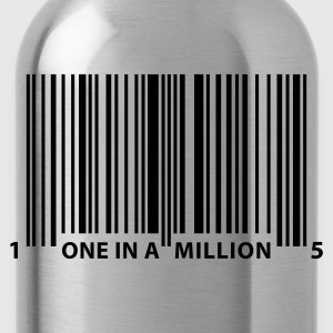 barcode_one_in_a_million T-Shirts - Water Bottle