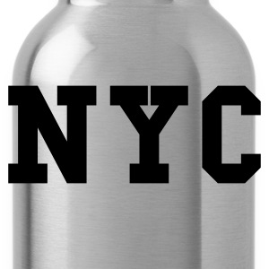 Navy nyc - new york city Women's T-Shirts - Water Bottle