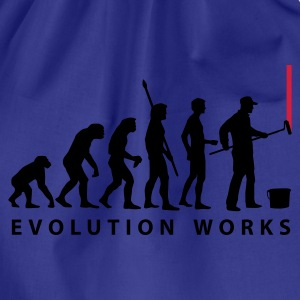 evolution_maler_a2_2c T-shirts - Gymnastikpåse